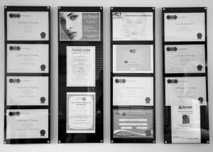 LA Beauty Qualified Training Certificates