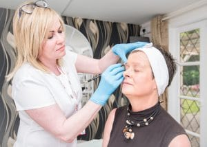 Semi Permanent Makeup Process