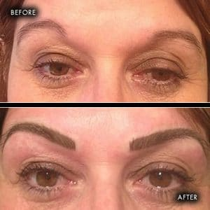 semi permanent makeup eyebrows southampton 1