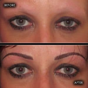 semi permanent makeup eyebrows southampton 2