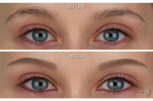 semi permanent makeup eyebrows southampton 3