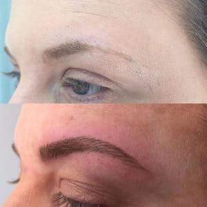 semi permanent makeup eyebrows southampton 4