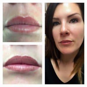 semi permanent makeup lips southampton