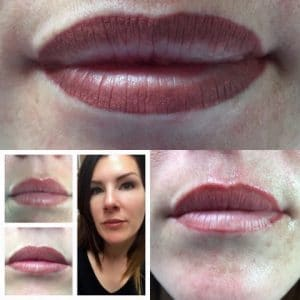 semi permanent makeup lips southampton LA Beauty